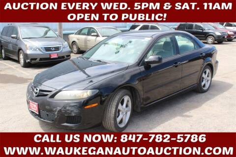 2008 Mazda MAZDA6 for sale at Waukegan Auto Auction in Waukegan IL