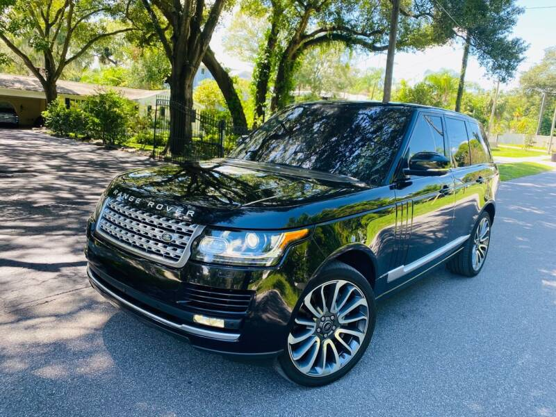2016 Land Rover Range Rover for sale at CHECK AUTO, INC. in Tampa FL