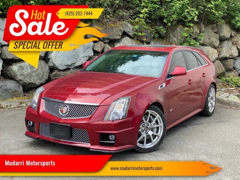 2011 Cadillac CTS-V for sale at Mudarri Motorsports in Kirkland WA