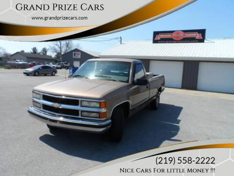 1995 Chevrolet C/K 1500 Series for sale at Grand Prize Cars in Cedar Lake IN