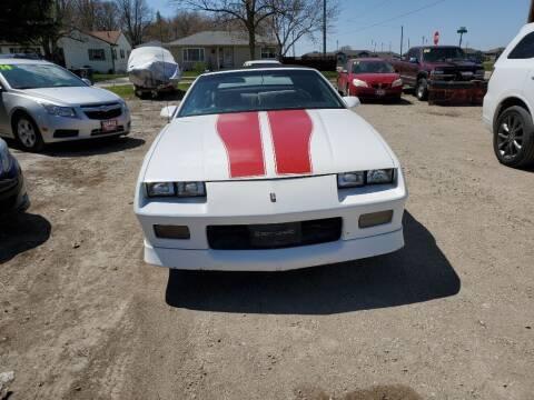 1989 Chevrolet Camaro for sale at Buena Vista Auto Sales in Storm Lake IA
