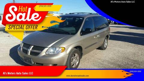 2004 Dodge Caravan for sale at Al's Motors Auto Sales LLC in San Antonio TX