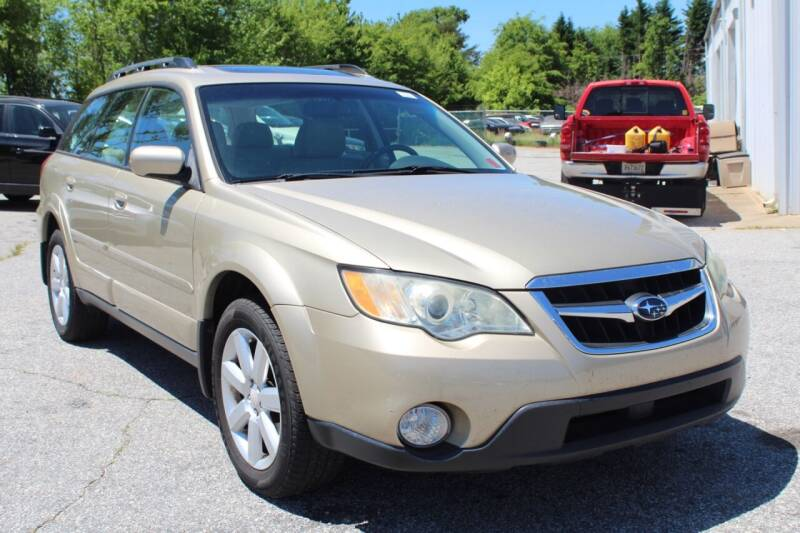 2008 Subaru Outback for sale at UpCountry Motors in Taylors SC