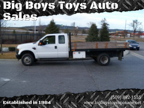 2009 Ford F-350 Super Duty for sale at Big Boys Toys Auto Sales in Spokane Valley WA