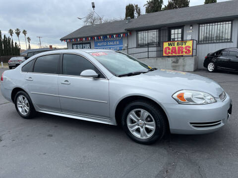 2014 Chevrolet Impala Limited for sale at Blue Diamond Auto Sales in Ceres CA