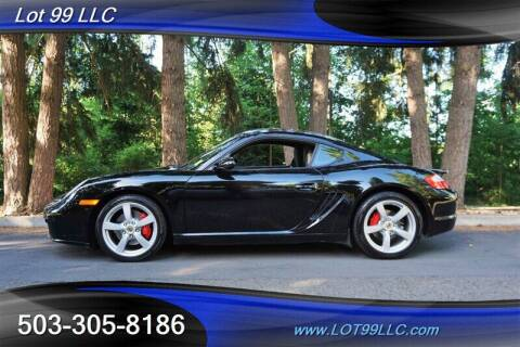 2008 Porsche Cayman for sale at LOT 99 LLC in Milwaukie OR