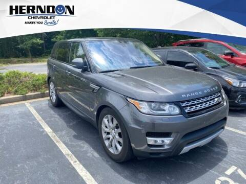 2016 Land Rover Range Rover Sport for sale at Herndon Chevrolet in Lexington SC