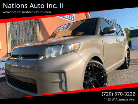 2013 Scion xB for sale at Nations Auto Inc. II in Denver CO