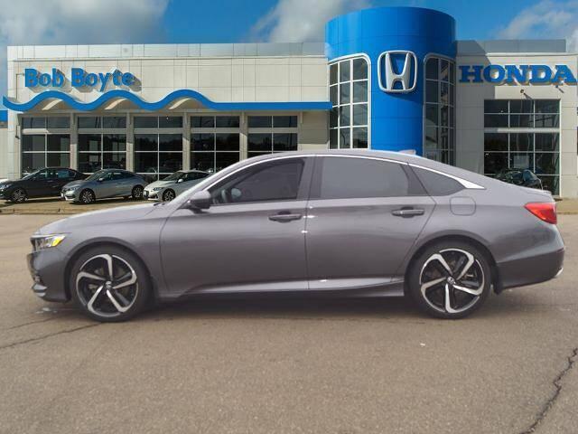 2018 Honda Accord for sale at BOB BOYTE HONDA in Brandon MS