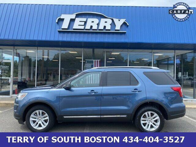 2018 Ford Explorer for sale at Terry of South Boston in South Boston VA
