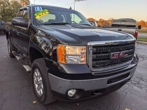 2011 GMC Sierra 2500HD for sale at GREAT DEALS ON WHEELS in Michigan City IN