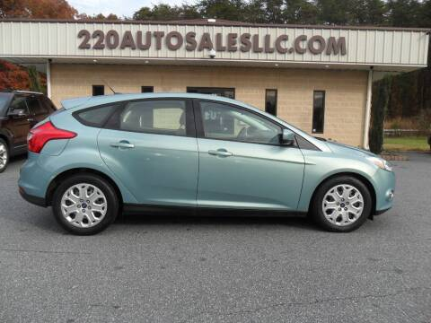 2012 Ford Focus for sale at 220 Auto Sales LLC in Madison NC