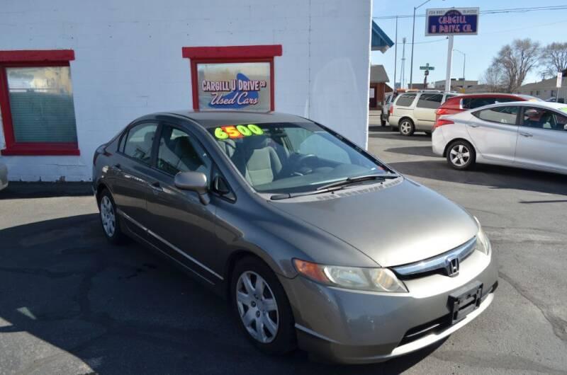 2007 Honda Civic for sale at CARGILL U DRIVE USED CARS in Twin Falls ID
