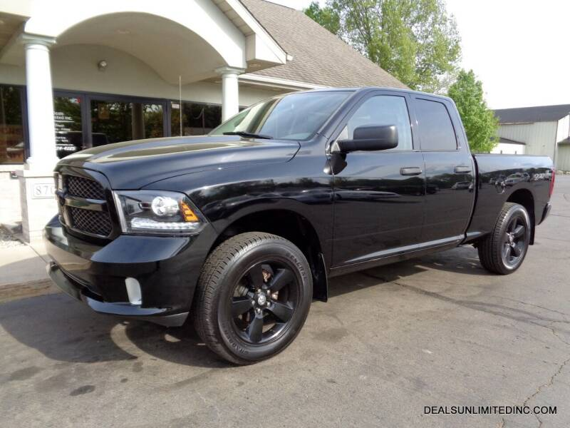 2013 RAM Ram Pickup 1500 for sale at DEALS UNLIMITED INC in Portage MI
