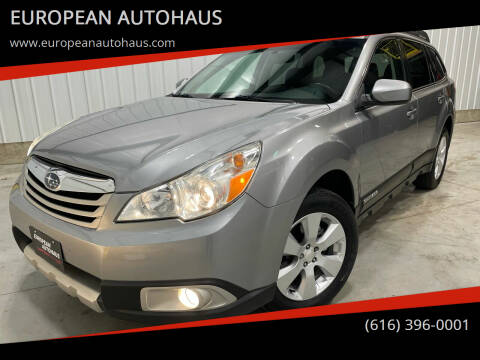 2011 Subaru Outback for sale at EUROPEAN AUTOHAUS in Holland MI