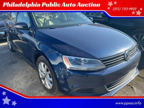 2014 Volkswagen Jetta for sale at Philadelphia Public Auto Auction in Philadelphia PA