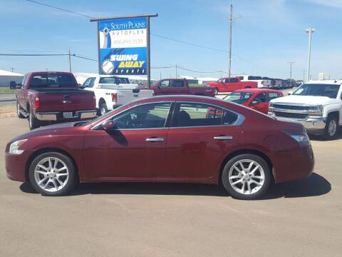 2013 Nissan Maxima for sale at South Plains Autoplex by RANDY BUCHANAN in Lubbock TX