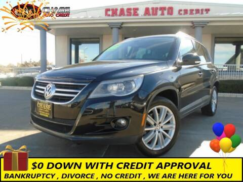 2011 Volkswagen Tiguan for sale at Chase Auto Credit in Oklahoma City OK