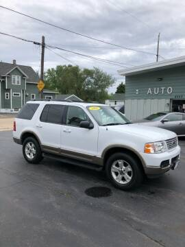 2003 Ford Explorer for sale at SHEFFIELD MOTORS INC in Kenosha WI