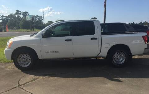 2008 Nissan Titan for sale at Bobby Lafleur Auto Sales in Lake Charles LA