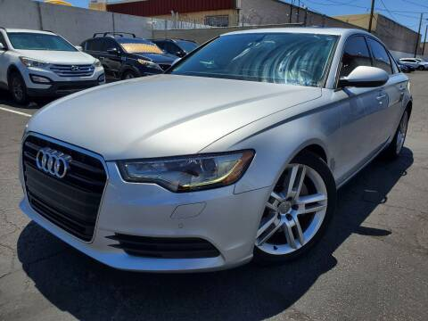 2014 Audi A6 for sale at Auto Center Of Las Vegas in Las Vegas NV