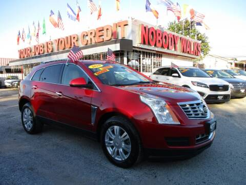 2016 Cadillac SRX for sale at Giant Auto Mart 2 in Houston TX