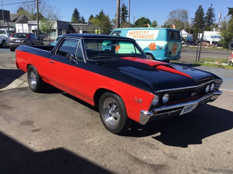 1967 Chevrolet El Camino for sale at Longoria Motors in Portland OR