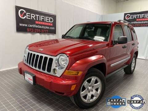 2006 Jeep Liberty for sale at CERTIFIED AUTOPLEX INC in Dallas TX