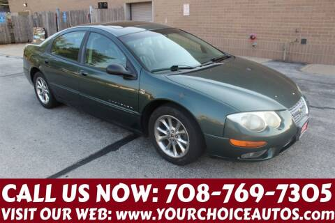 2000 Chrysler 300M for sale at Your Choice Autos in Posen IL