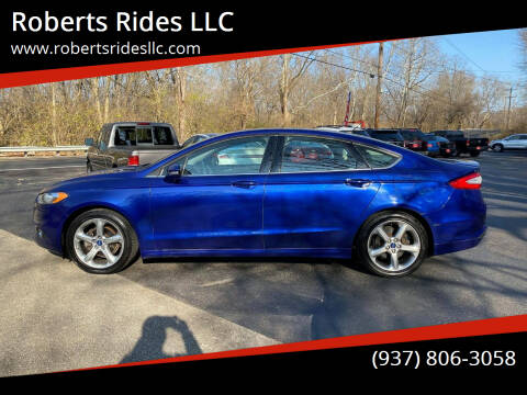 2015 Ford Fusion for sale at Roberts Rides LLC in Franklin OH