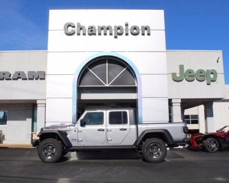 2020 Jeep Gladiator for sale at Champion Chevrolet in Athens AL