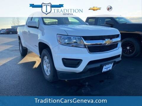 2018 Chevrolet Colorado for sale at Tradition Chevrolet Buick in Geneva NY