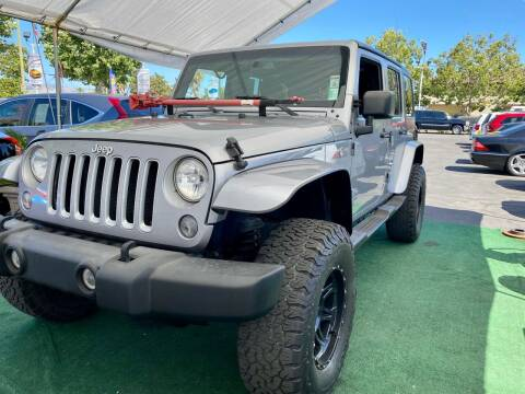 2016 Jeep Wrangler Unlimited for sale at San Jose Auto Outlet in San Jose CA
