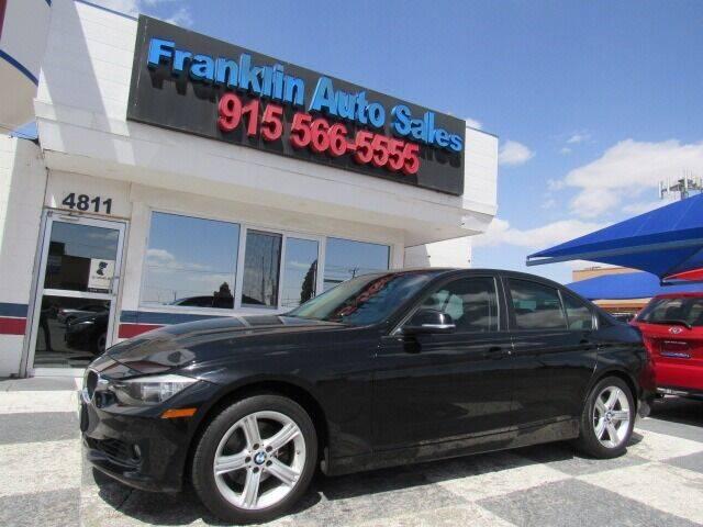 2015 BMW 3 Series for sale at Franklin Auto Sales in El Paso TX