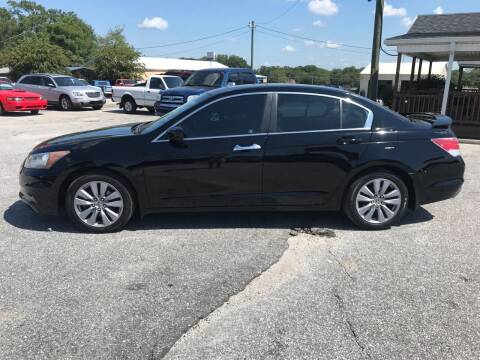 2011 Honda Accord for sale at TAVERN MOTORS in Laurens SC