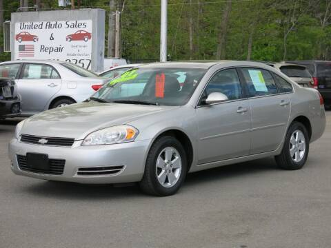 2007 Chevrolet Impala for sale at United Auto Service in Leominster MA