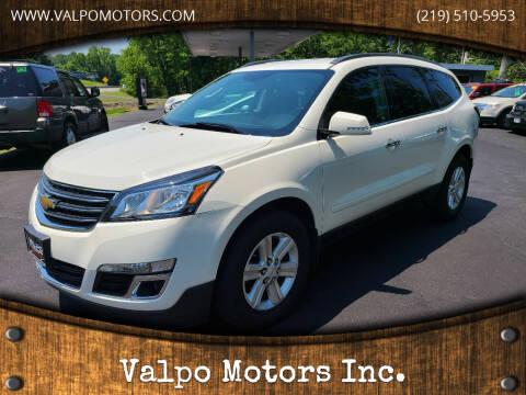 2014 Chevrolet Traverse for sale at Valpo Motors Inc. in Valparaiso IN