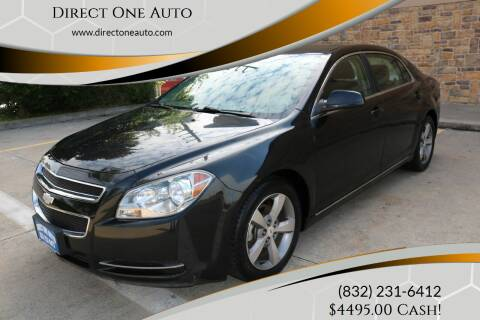 2011 Chevrolet Malibu for sale at Direct One Auto in Houston TX