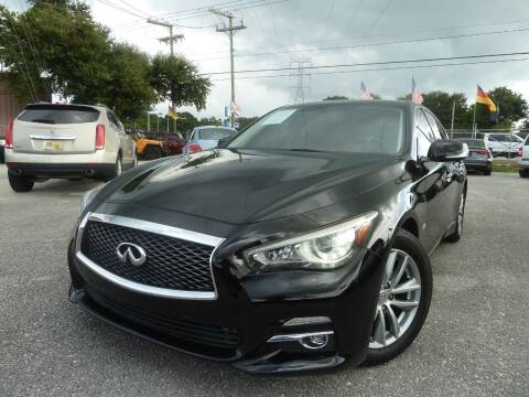 2014 Infiniti Q50 for sale at Das Autohaus Quality Used Cars in Clearwater FL