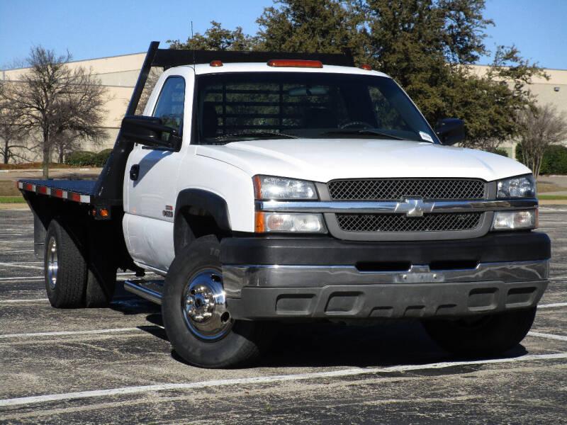 2003 Chevrolet Silverado 3500 for sale at Ritz Auto Group in Dallas TX