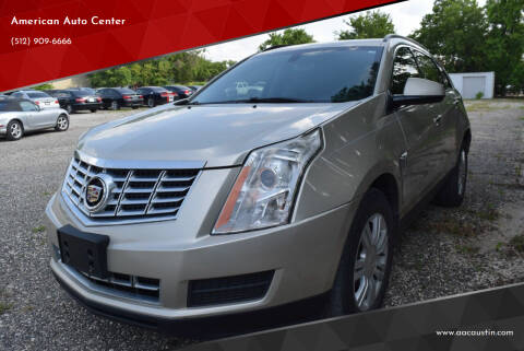 2013 Cadillac SRX for sale at American Auto Center in Austin TX