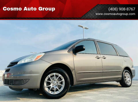 2004 Toyota Sienna for sale at Cosmo Auto Group in San Jose CA