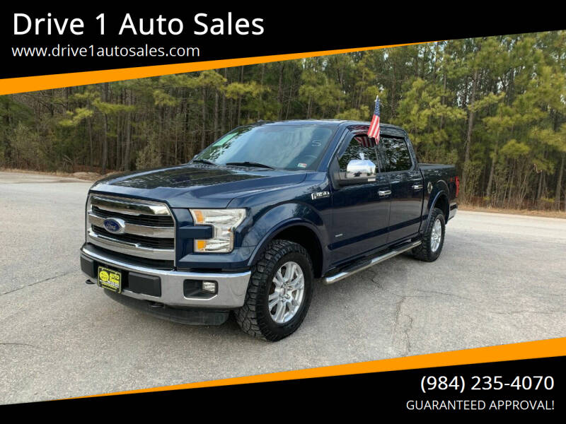2015 Ford F-150 for sale at Drive 1 Auto Sales in Wake Forest NC