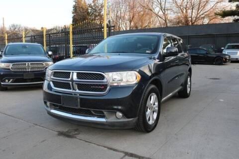 2012 Dodge Durango for sale at F & M AUTO SALES in Detroit MI