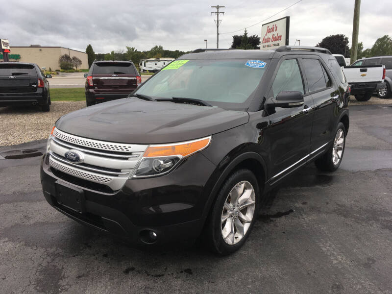 2013 Ford Explorer for sale at JACK'S AUTO SALES in Traverse City MI