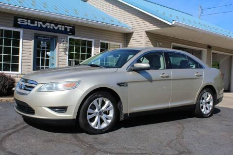 2010 Ford Taurus for sale at Summit Motorcars in Wooster OH