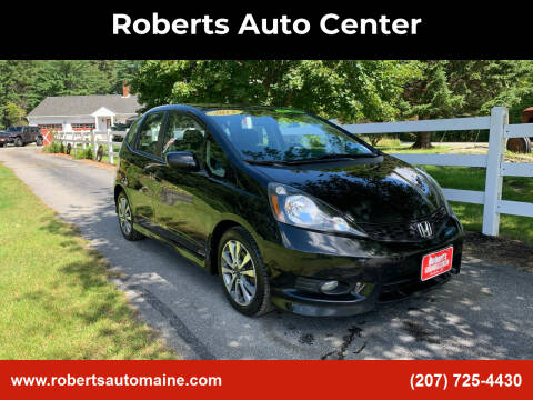 2013 Honda Fit for sale at Roberts Auto Center in Bowdoinham ME