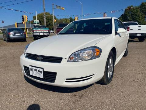 2009 Chevrolet Impala for sale at Toy Box Auto Sales LLC in La Crosse WI