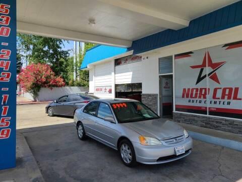 2001 Honda Civic for sale at Nor Cal Auto Center in Anderson CA
