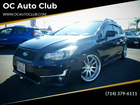2014 Subaru Impreza for sale at OC Auto Club in Midway City CA
